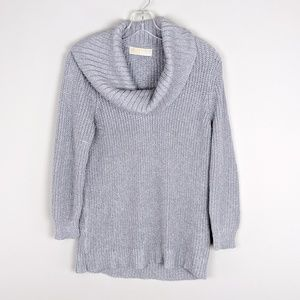 Michael Kors | Silver Cowl Neck Sweater - A6